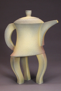 Shelley Schreiber - Three Legged Yellow Teapot